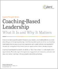 Coaching-Based Leadership: What It Is and Why It Matters