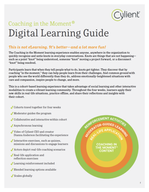 Front page of Digital Learning Guide